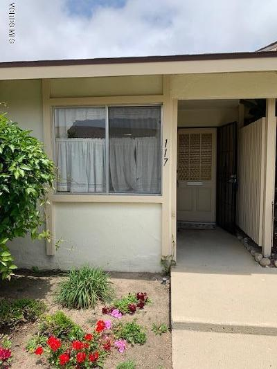 Port Hueneme Condo/Townhouse For Sale: 117 E Garden Green