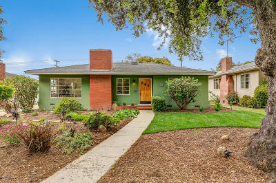 Ventura Single Family Home Active Under Contract: 257 Carol Drive