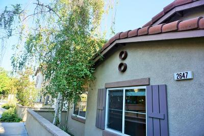 Simi Valley Condo/Townhouse For Sale: 2647 Night Jasmine Drive