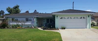 Camarillo Single Family Home For Sale: 2207 Lonsdale Street
