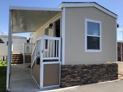 Ventura Mobile Home For Sale: 3975 Telegraph Road #3