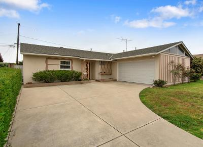 Oxnard Single Family Home Active Under Contract: 510 Vine Place