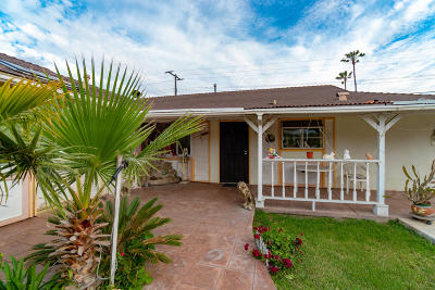 Oxnard Single Family Home For Sale: 410 E Yucca Street