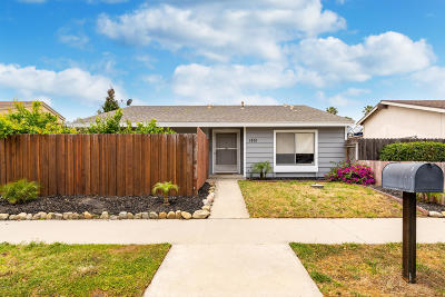 Oxnard Single Family Home For Sale: 1851 Capstan Drive