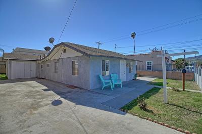 Ventura Single Family Home Active Under Contract: 182 W Harrison Avenue