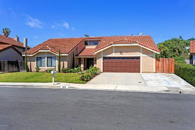 Newbury Park Single Family Home For Sale: 609 Courtney Court
