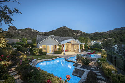 Westlake Village Single Family Home For Sale: 1685 Sycamore Canyon Drive