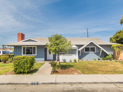 Oxnard Single Family Home Active Under Contract: 1741 Arcadia Street