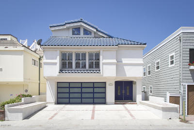 Oxnard Single Family Home For Sale: 4025 Ocean Drive