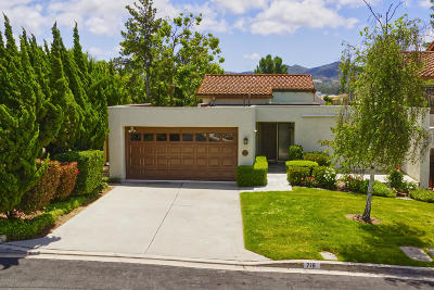 Thousand Oaks Condo/Townhouse For Sale: 716 Woodlawn Drive