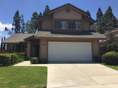 Thousand Oaks Single Family Home For Sale: 2637 Rikkard Drive