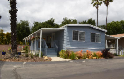 Santa Paula Mobile Home For Sale: 1500 Richmond Road #80