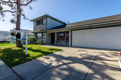 Oxnard Single Family Home For Sale: 3461 Oarfish Lane