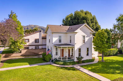 Santa Paula Single Family Home For Sale: 142 Olive Street