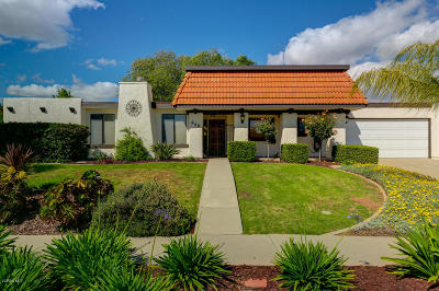 Ojai Single Family Home For Sale: 646 Country Drive