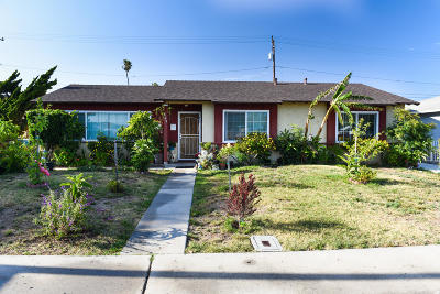 Oxnard Single Family Home For Sale: 629 Bryce Canyon Avenue