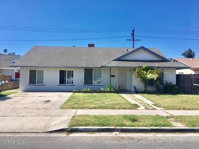 Oxnard Single Family Home For Sale: 1030 Azalea Street