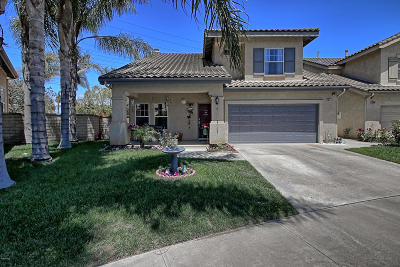 Oxnard Single Family Home For Sale: 1541 Levi Way