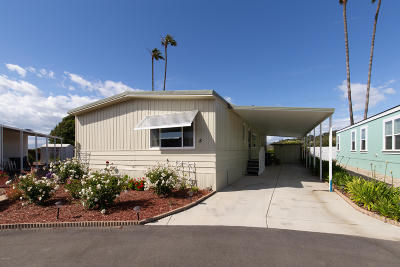 Camarillo Mobile Home Active Under Contract: 4388 Central Avenue #8