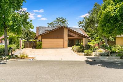 Ojai Single Family Home For Sale: 11504 Oakcrest Avenue