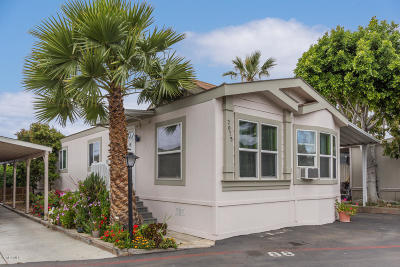 Ventura Mobile Home For Sale: 2075 Glover Street
