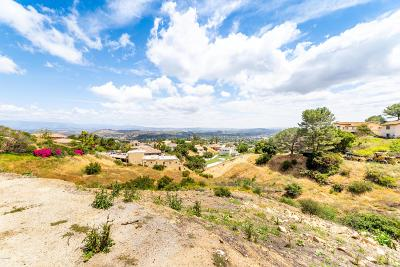 Ventura County Residential Lots & Land For Sale: 1471 Topa View Trail