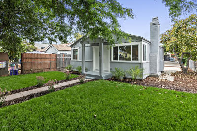 Santa Paula Single Family Home For Sale: 230 California Street