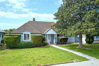 Oxnard Single Family Home Active Under Contract: 1008 W Roderick Avenue