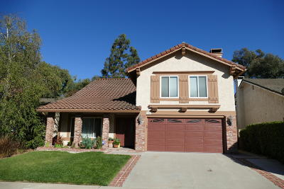 Newbury Park Single Family Home For Sale: 780 Calle Las Colinas