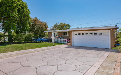 Oxnard Single Family Home Active Under Contract: 935 Piedmont Street