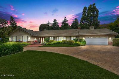 Santa Rosa (ven) Single Family Home For Sale: 11295 Barranca Road