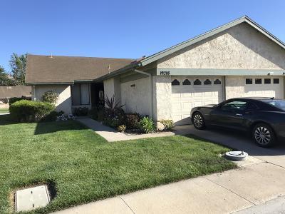 Camarillo Single Family Home Active Under Contract: 19218 Village 19
