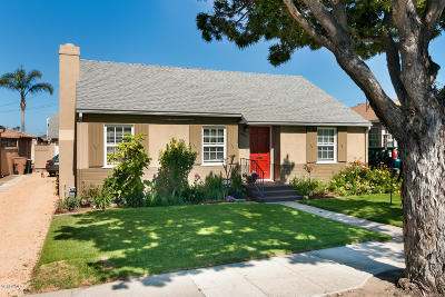 Ventura Single Family Home Active Under Contract: 605 Howard Street