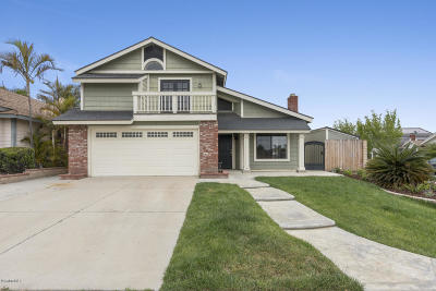 Ventura Single Family Home Active Under Contract: 698 Rochester Court