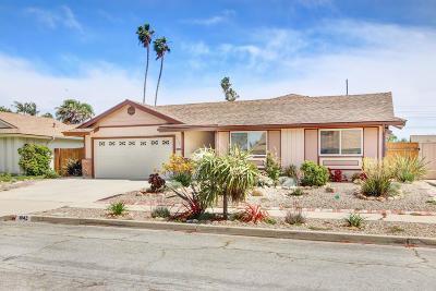 Ventura Single Family Home Active Under Contract: 8142 Tiara Street