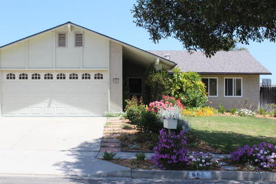 Ventura Single Family Home For Sale: 662 Cachuma Avenue