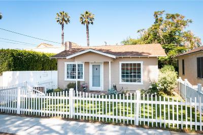 Ventura Single Family Home Active Under Contract: 177 S Pacific Avenue