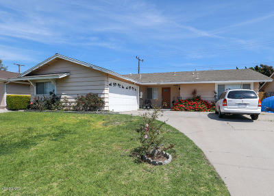 Oxnard Single Family Home For Sale: 2200 Almanor Street