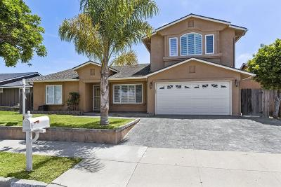 Oxnard Single Family Home For Sale: 1500 Fathom Drive