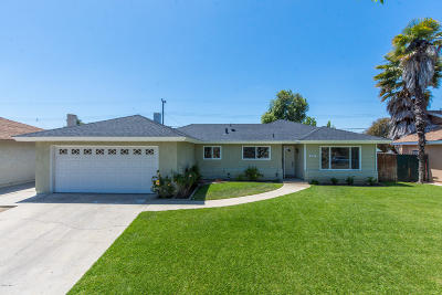 Camarillo Single Family Home Active Under Contract: 2184 Briarfield Street