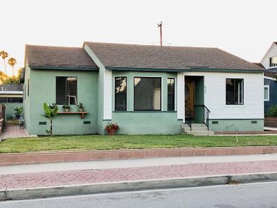 Ventura Single Family Home For Sale: 833 Lemon Grove Avenue
