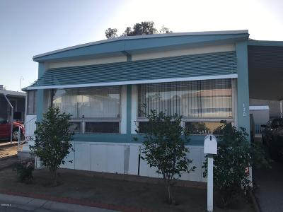Oxnard Mobile Home Active Under Contract: 1101 Ventura Boulevard #170