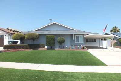 Ventura Single Family Home For Sale: 826 Montgomery Avenue