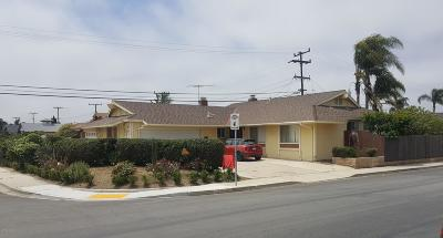 Oxnard Single Family Home Active Under Contract: 1201 Gardenia Street
