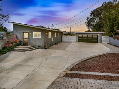 Oxnard Single Family Home Active Under Contract: 451 Howell Road