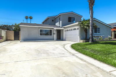 Port Hueneme Single Family Home For Sale: 1143 6th Street