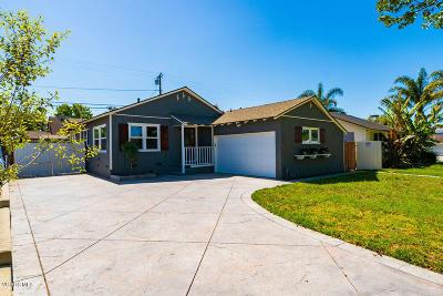 Ventura Single Family Home Active Under Contract: 490 Emma Avenue