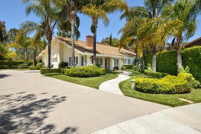 Camarillo Single Family Home Active Under Contract: 6191 Joshua Trail