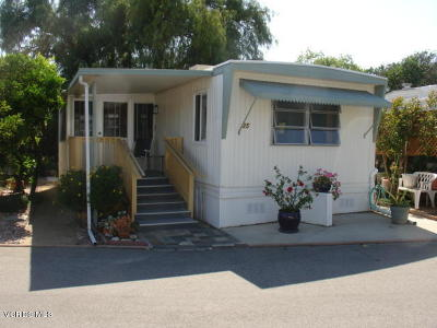 Ventura County Mobile Home Active Under Contract: 1075 Loma Drive #35