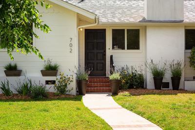 Ojai Single Family Home For Sale: 702 Mercer Avenue